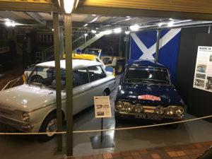 Blue Rally Imp