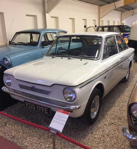 White Hillman Californian