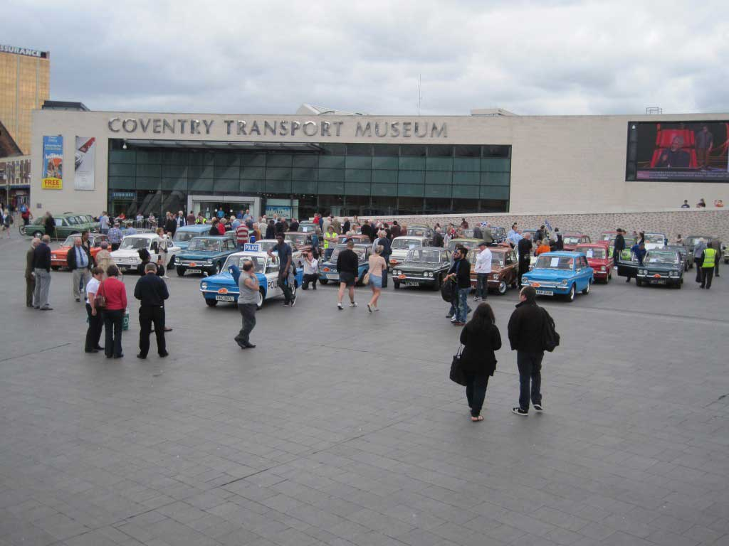 Photo outside Coventry Motor Museum