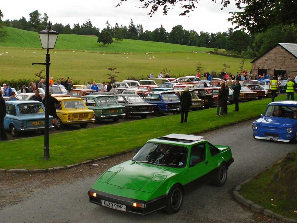 Photo of some of around 80 Imps at Glenalmond Estate