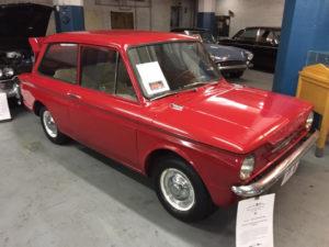 Red 1964 Sunbeam Imp
