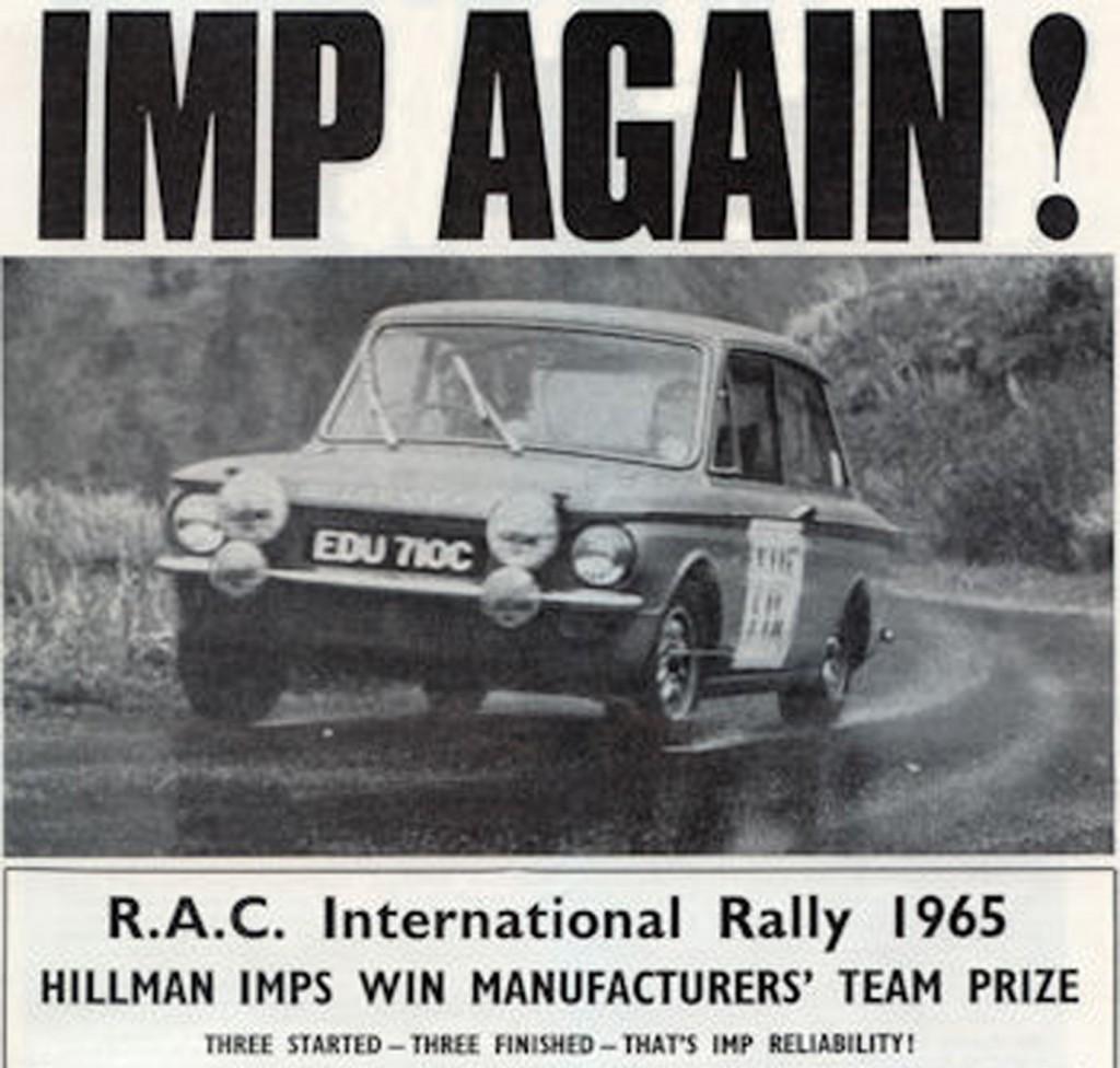RAC Rally 1965