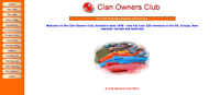 Clan Owners Club Website - Opens in new page