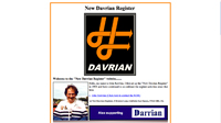 Link to Davrian Register - Opens in new page