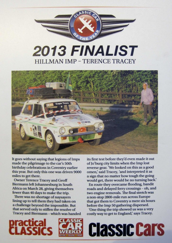 Practical classic show Article