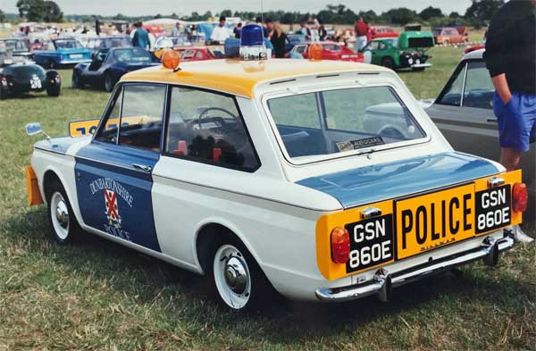 Imp in Dumbartonshire Police livery