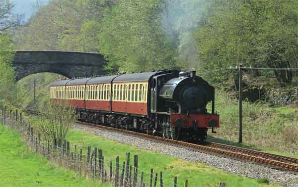 Photo of Lakeside & Haverthwaite steam train