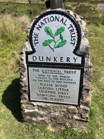National Trust plaque