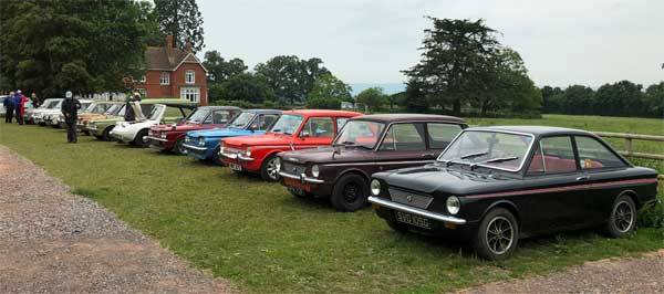 Imp line up t end of scenic run to Cider Factory